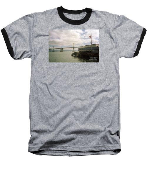 San Francisco Bay Bridge Baseball T-Shirt