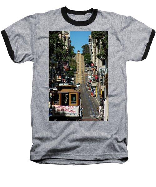 San Francisco Cable Cars Baseball T-Shirt