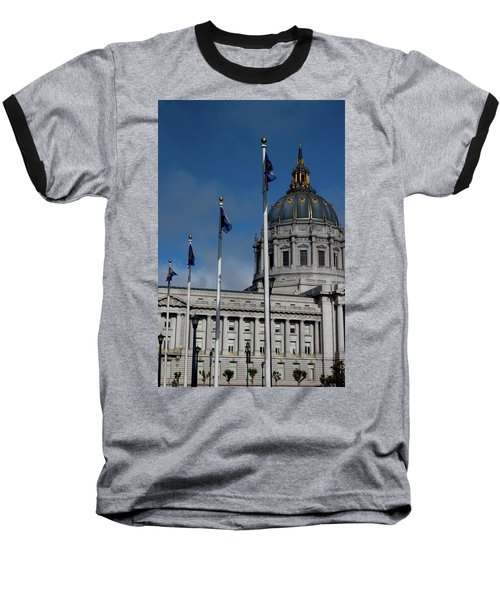 San Francisco City Hall Baseball T-Shirt