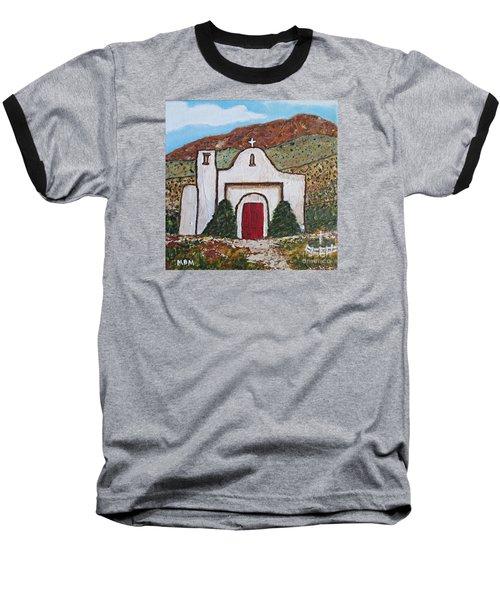 San Francisco De Asis Mission Church, Golden, Nm Baseball T-Shirt