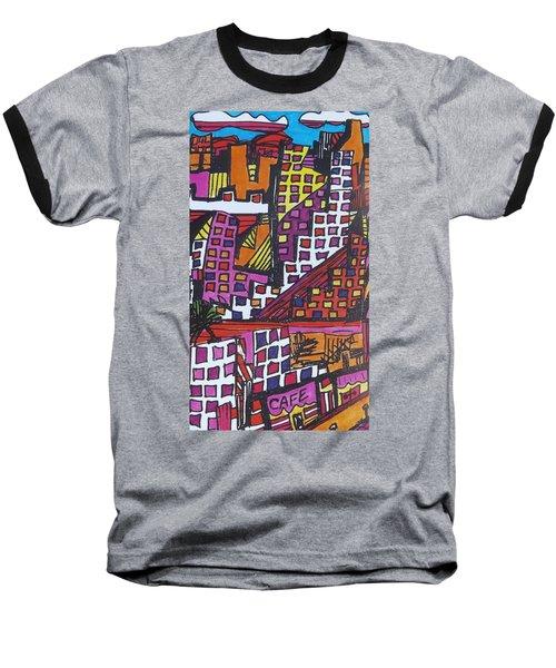 San Francisco  Baseball T-Shirt by Don Koester