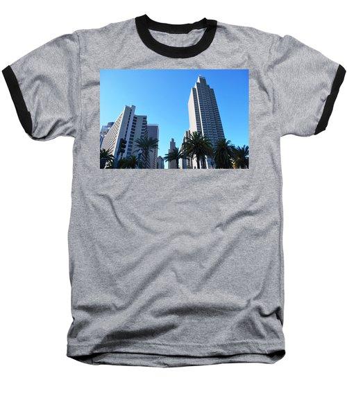 San Francisco Embarcadero Center Baseball T-Shirt