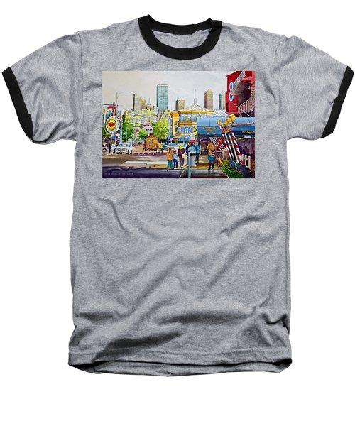 San Francisco Fisherman's Wharf Baseball T-Shirt