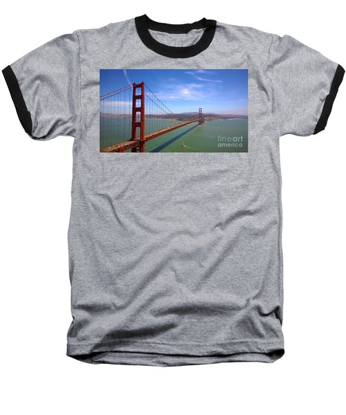 San Francisco Golden Gate Bridge Baseball T-Shirt