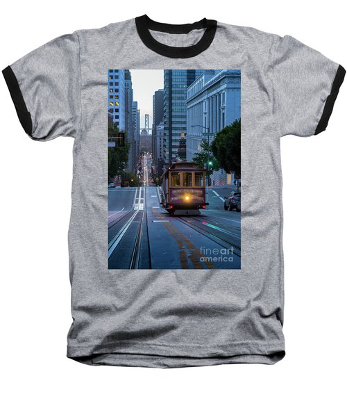 San Francisco Morning Commute Baseball T-Shirt
