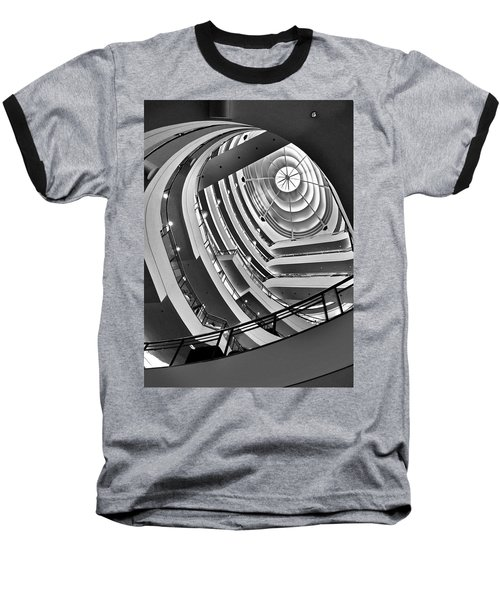 San Francisco - Nordstrom Department Store Architecture Baseball T-Shirt