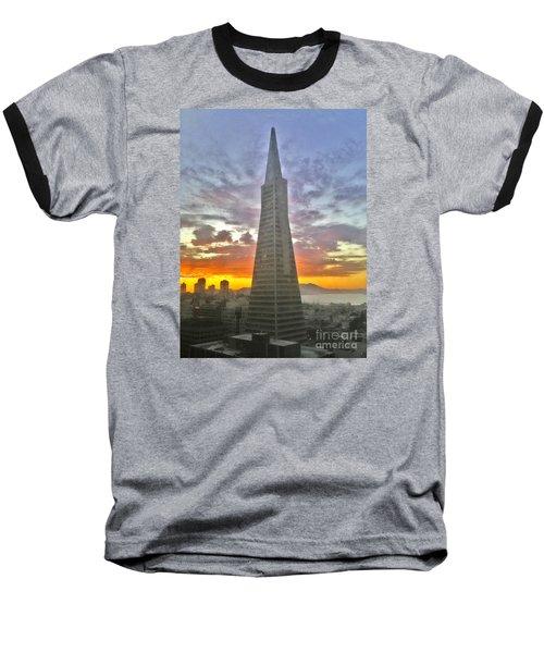 San Francisco Pyramid Baseball T-Shirt