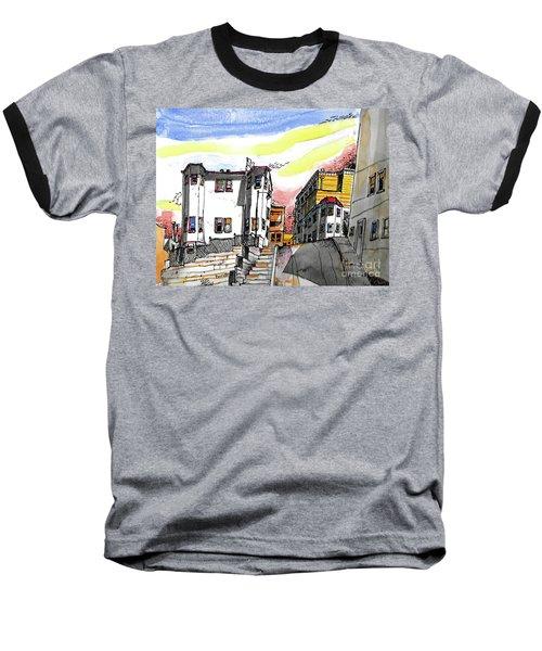 San Francisco Side Street Baseball T-Shirt