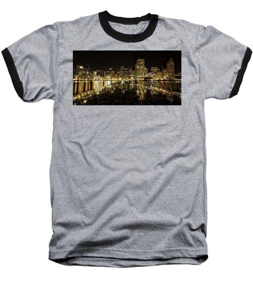 San Francisco Skyline Baseball T-Shirt