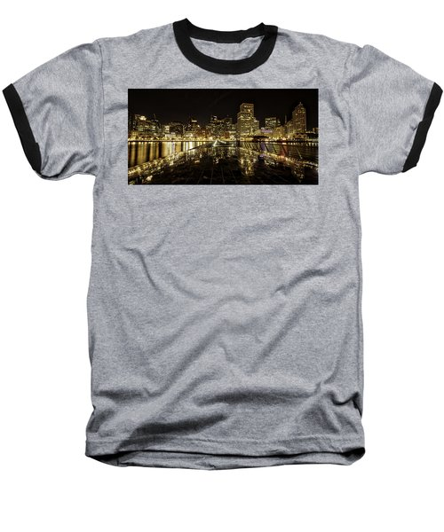 San Francisco Skyline Baseball T-Shirt