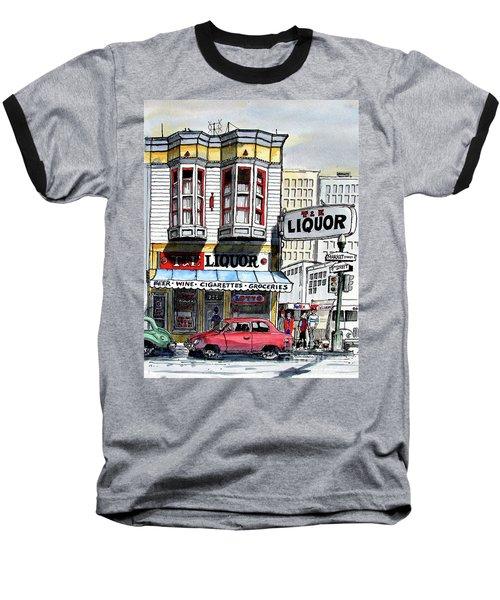 San Francisco Street Corner Baseball T-Shirt
