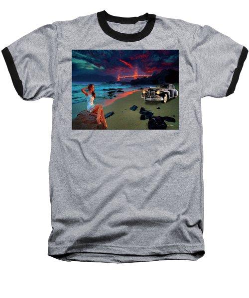 San Francisco Sunrise Baseball T-Shirt