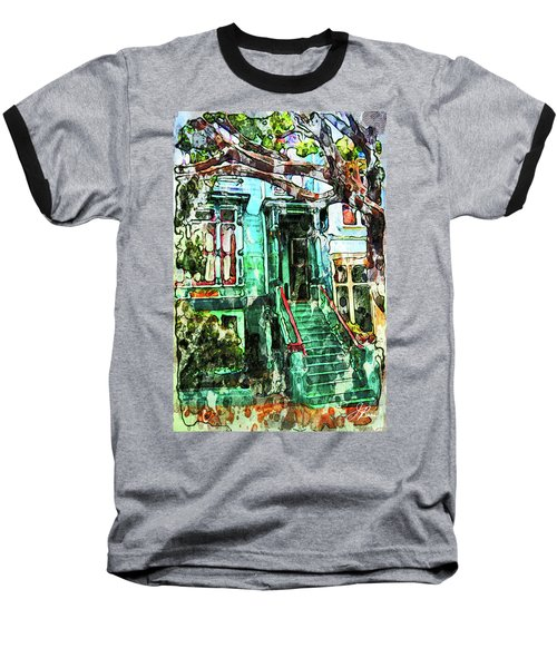 San Francisco Victorian Baseball T-Shirt