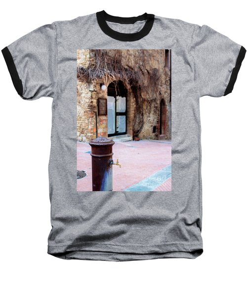 San Gimignano Baseball T-Shirt