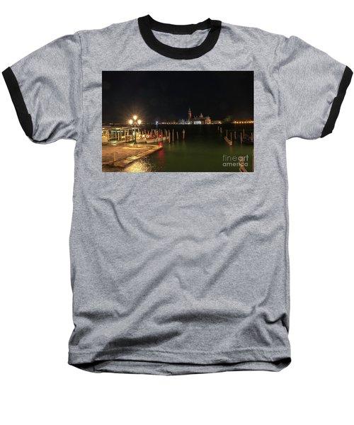 San Giorgio Maggiori At Night Baseball T-Shirt
