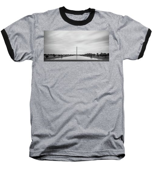 San Jacinto Monument Long Exposure Baseball T-Shirt