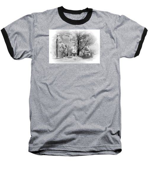 Baseball T-Shirt featuring the photograph San Jose De Dios Cemetery by Sean Foster
