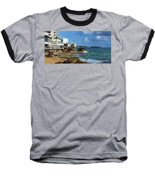 San Juan Bay In Puerto Rico Baseball T-Shirt