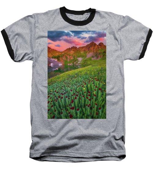 Baseball T-Shirt featuring the photograph San Juan Sunrise by Darren White