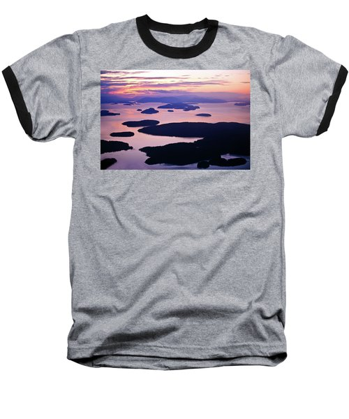 San Juans Tranquility Baseball T-Shirt by Mike Reid