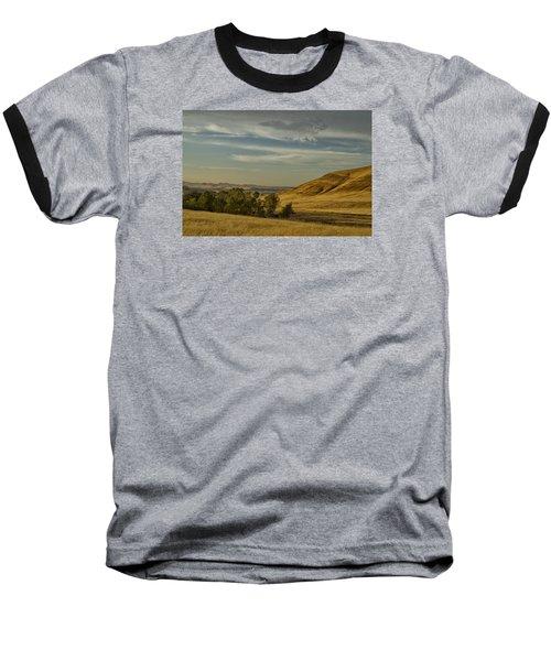 San Luis Reservoir 9891 Baseball T-Shirt