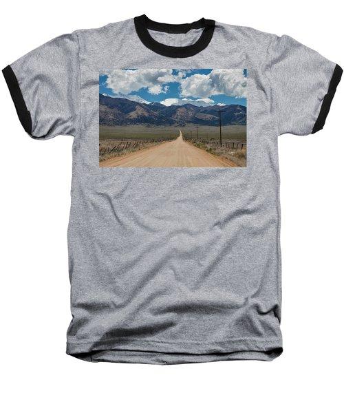 San Luis Valley Back Road Cruising Baseball T-Shirt by James BO Insogna