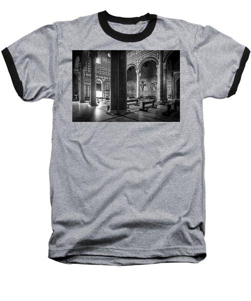 San Miniato Al Monte Baseball T-Shirt
