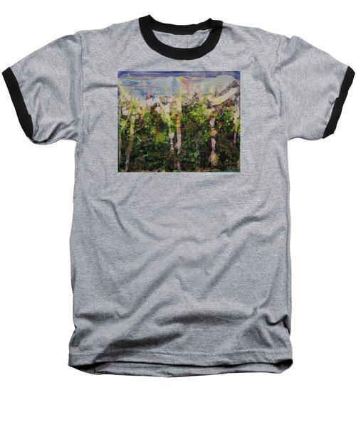 Sanative Baseball T-Shirt by Ron Richard Baviello