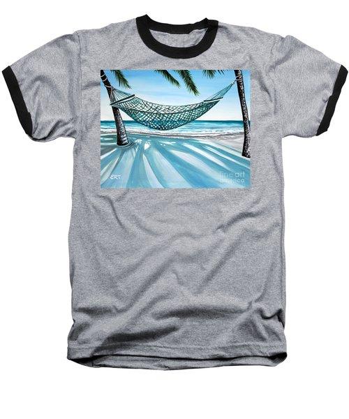 Sand And Shadows Baseball T-Shirt