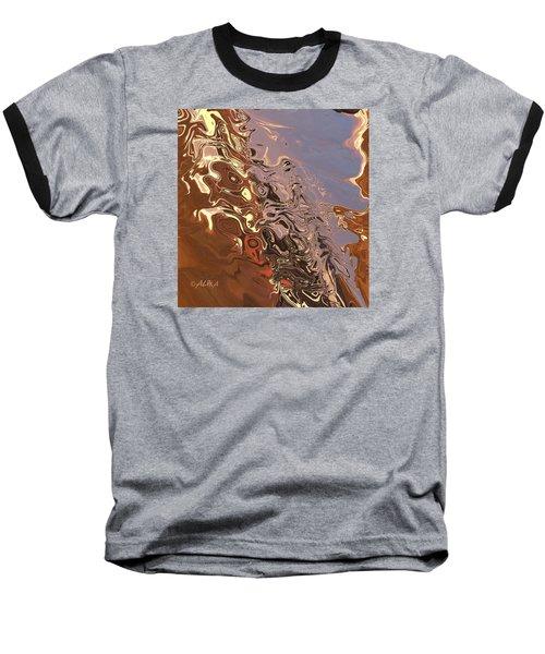 Sand Bank Baseball T-Shirt by Alika Kumar
