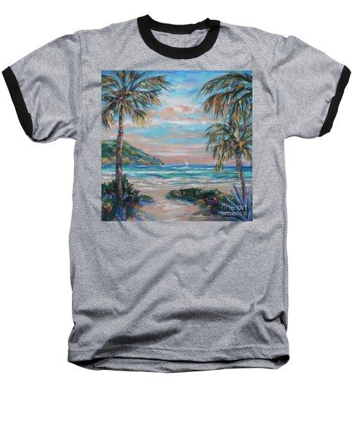 Sand Bank Bay Baseball T-Shirt