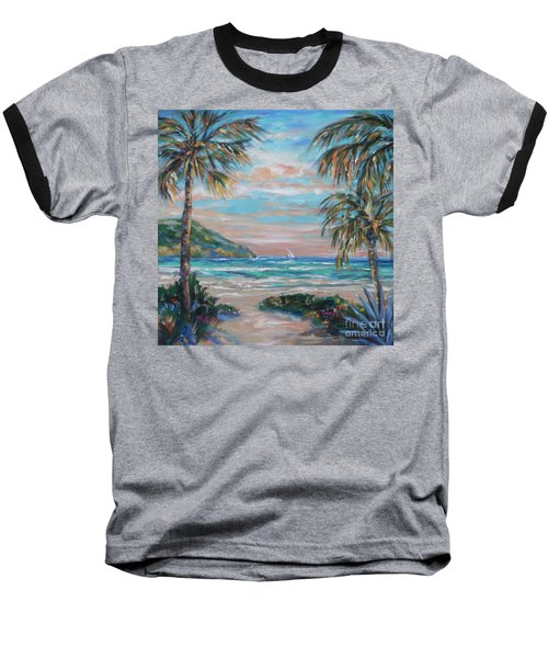 Sand Bank Bay Baseball T-Shirt