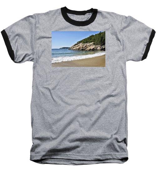 Sand Beach - Acadia National Park - Maine Baseball T-Shirt by Brendan Reals