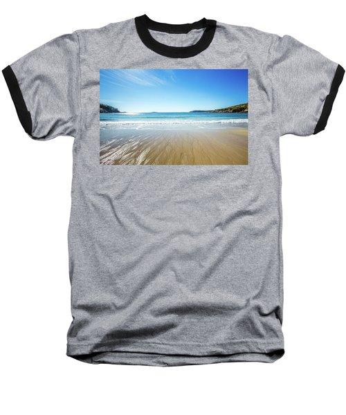 Sand Beach Baseball T-Shirt