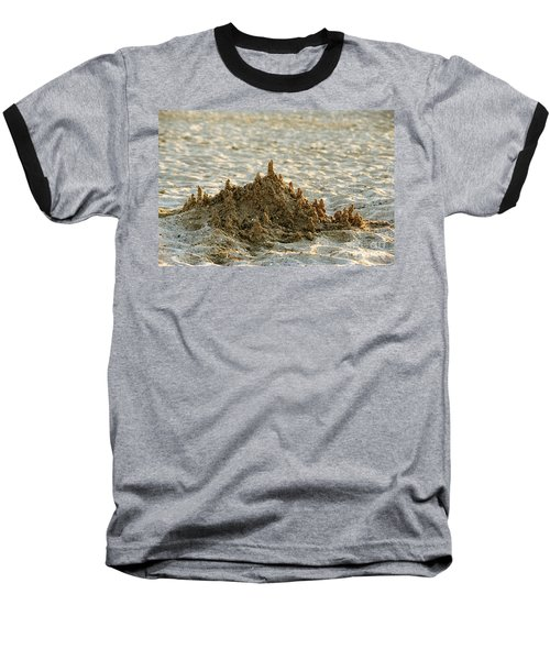 Sand Castle Baseball T-Shirt