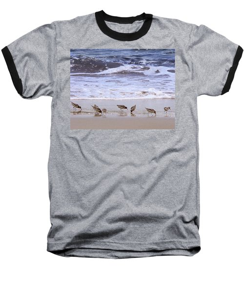 Sand Dancers Baseball T-Shirt by Steven Sparks