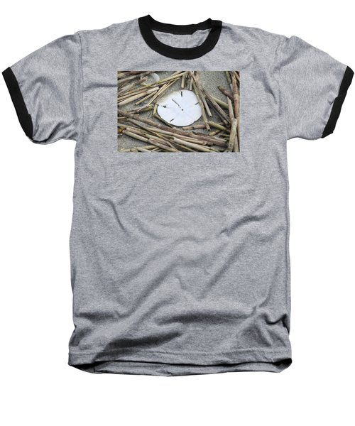 Sand Dollar Salad Baseball T-Shirt