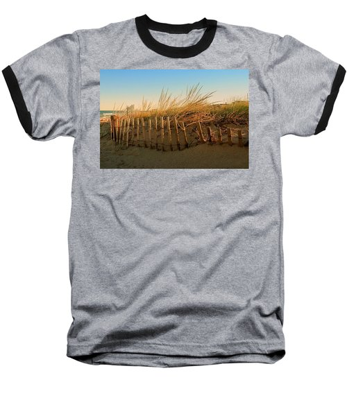 Sand Dune In Late September - Jersey Shore Baseball T-Shirt