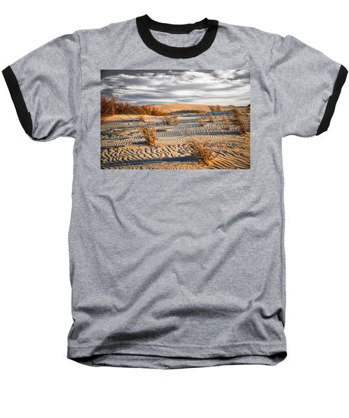 Sand Dune Wind Carvings Baseball T-Shirt