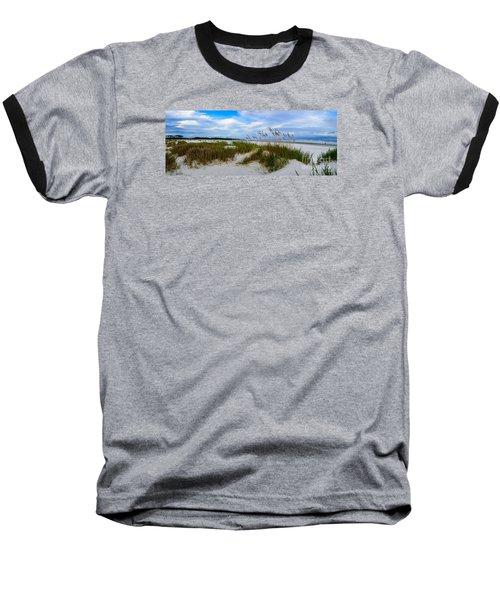 Sand Dunes And Blue Skys Baseball T-Shirt
