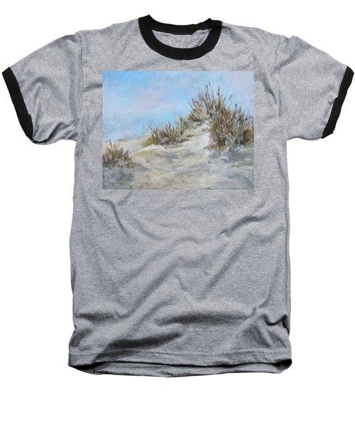 Sand Dunes And Salty Air Baseball T-Shirt by Barbara O'Toole