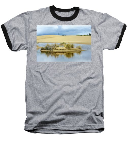 Sand Dunes And Water Baseball T-Shirt