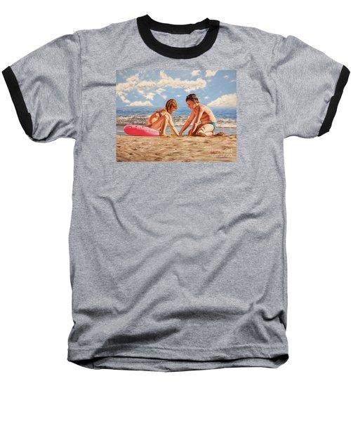 Sand Grains - Granos De Arena Baseball T-Shirt