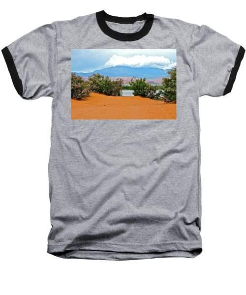 Sand Hallow Reservoir Baseball T-Shirt