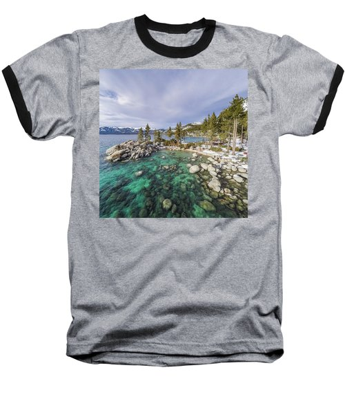 Sand Harbor Views Baseball T-Shirt