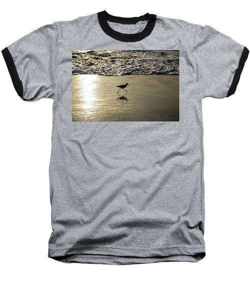 Sand Piper Dash Baseball T-Shirt