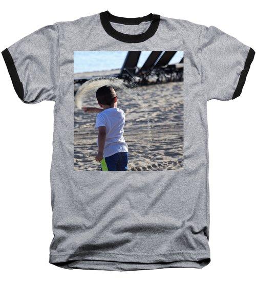 Sand Rainbow Baseball T-Shirt