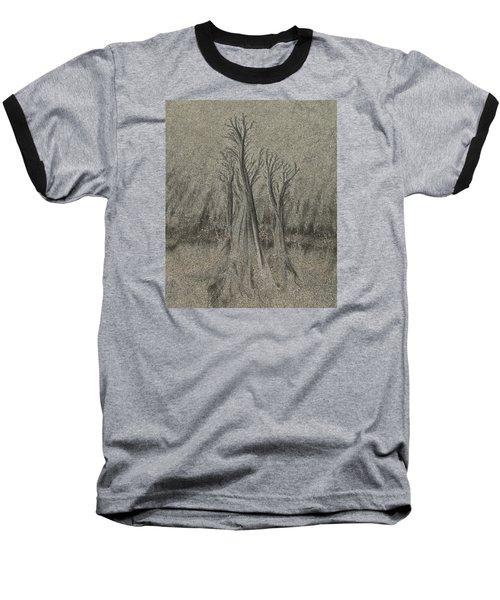 Sand Reel Baseball T-Shirt by Joe  Palermo