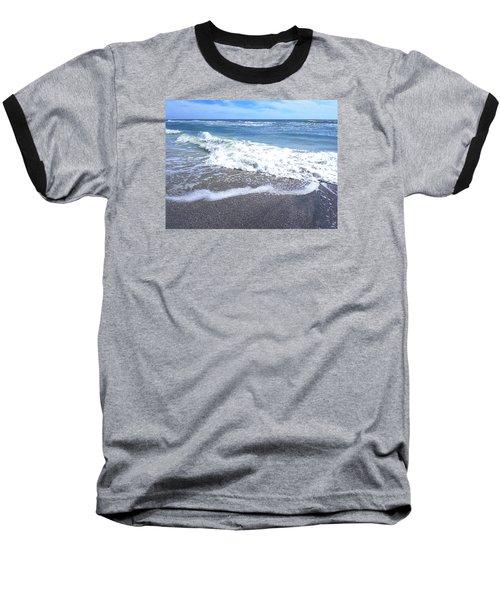 Sand, Sea, Sun No. 1 Baseball T-Shirt