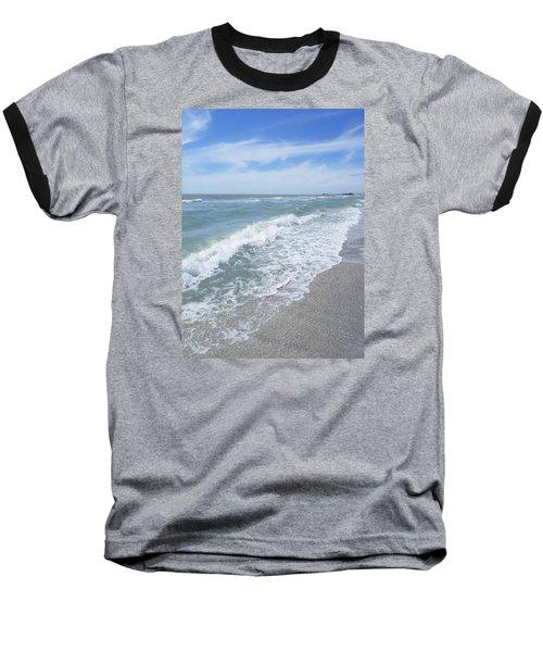 Sand, Sea, Sun, No.2 Baseball T-Shirt